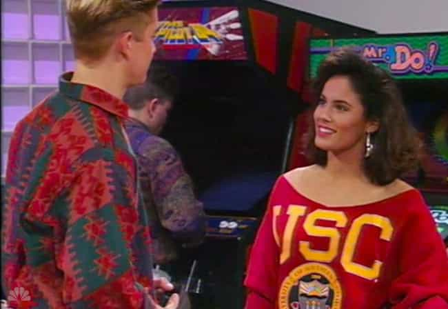 Danielle, Zack's Foxy College ... is listed (or ranked) 1 on the list 14 Love Interests On Saved By The Bell And What Probably Happened To Them