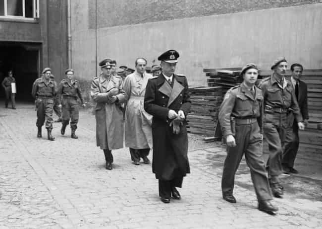 Himmler & Goering Bailed Befor... is listed (or ranked) 2 on the list 12 Surprising Things That Happened Immediately After Hitler Killed Himself