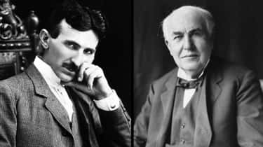 Nikola Tesla And Thomas Edison is listed (or ranked) 1 on the list 10 Pairs of Historical Figures You Had No Idea Hated Each Other