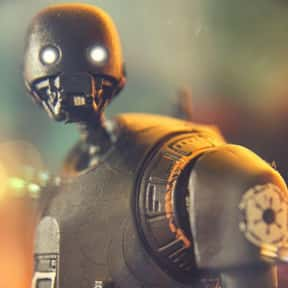 K-2SO is listed (or ranked) 15 on the list Vader to Binks: Best to Worst Star Wars Characters