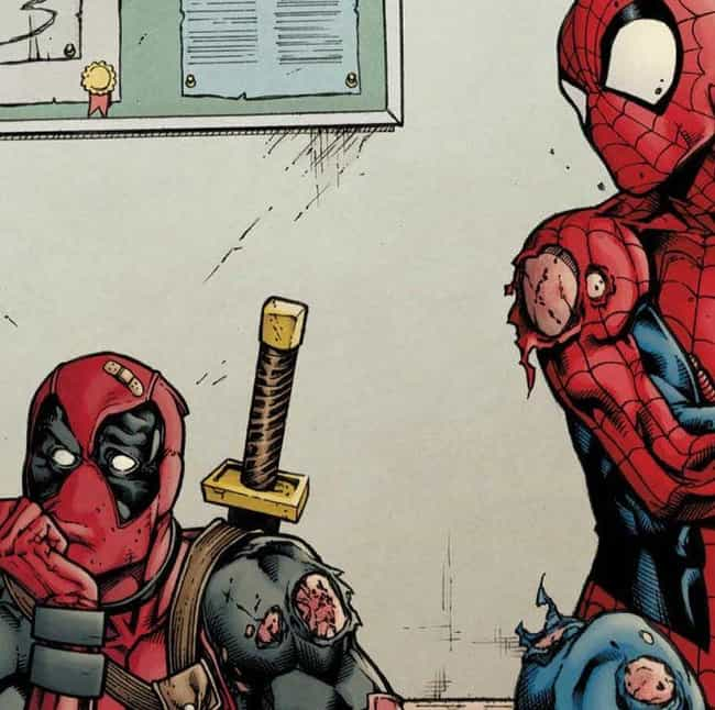 Spider-Man And Deadpool is listed (or ranked) 1 on the list The 18 Most Beautiful Bromances In Comic Book History