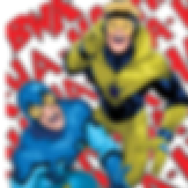 Blue Beetle And Booster Gold is listed (or ranked) 6 on the list The 18 Most Beautiful Bromances In Comic Book History