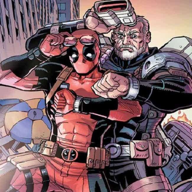 Cable And Deadpool is listed (or ranked) 3 on the list The 18 Most Beautiful Bromances In Comic Book History