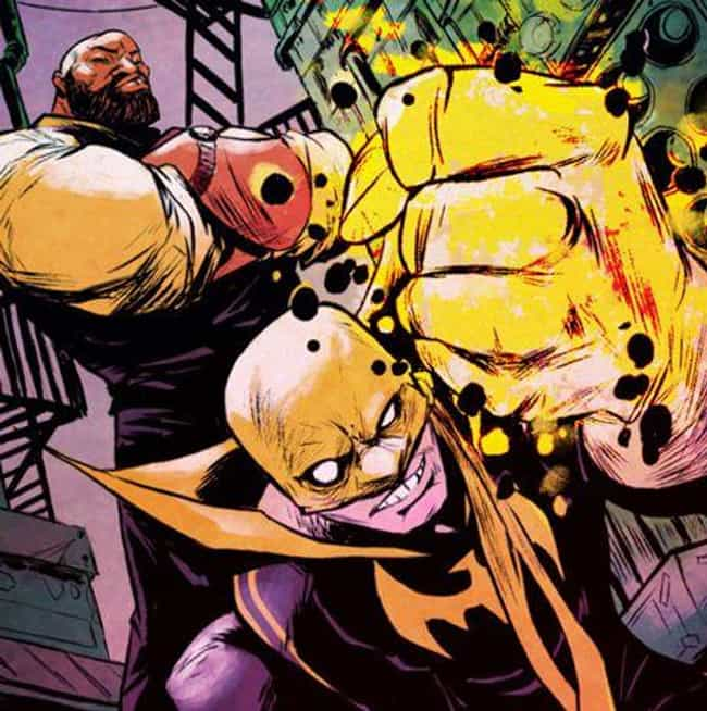 Luke Cage And Iron Fist is listed (or ranked) 2 on the list The 18 Most Beautiful Bromances In Comic Book History