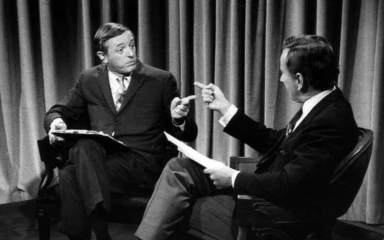 Gore Vidal And William Buckley
