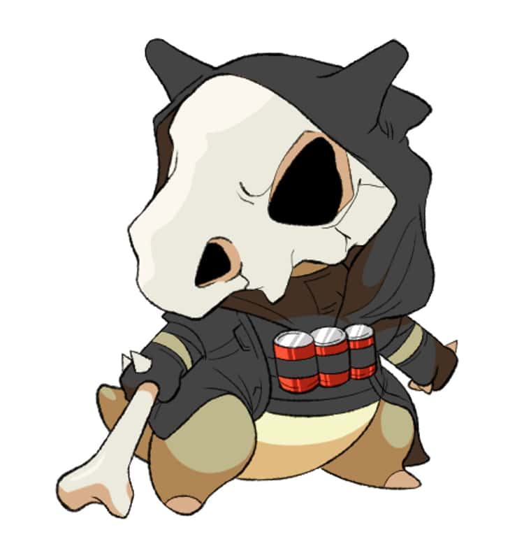 Reaper As Cubone