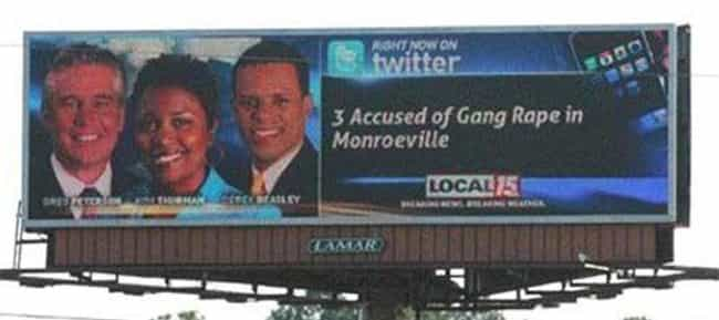 The Gang's All Here is listed (or ranked) 2 on the list These Truly Unfortunate Ad Placements Will Make You Wonder If Someone Did These On Purpose