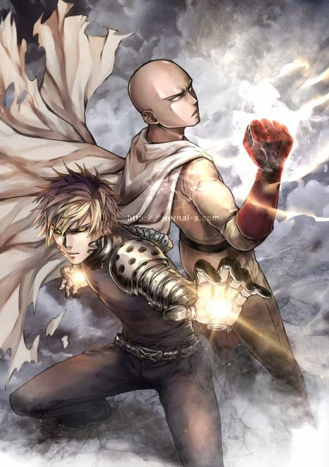 A Teacher And His Studen... is listed (or ranked) 2 on the list 33 Epic One-Punch Man Mashups And Fan Art