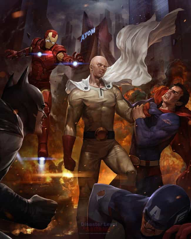 The Power Of One-Punch ... is listed (or ranked) 1 on the list 33 Epic One-Punch Man Mashups And Fan Art