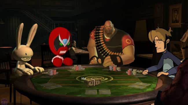 Poker Night At The Inven... is listed (or ranked) 3 on the list The 13 Most Bizarre Crossovers In Gaming History