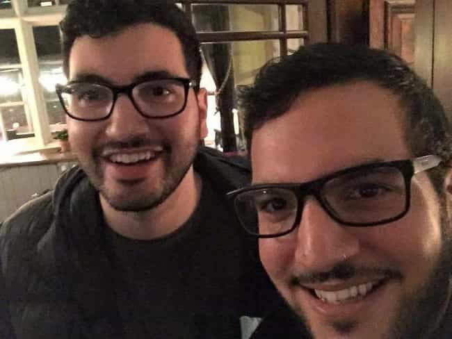 Through The Looking Glasses is listed (or ranked) 2 on the list 27 Amazing Photos of People Who Randomly Bumped Into Their Doppelgänger