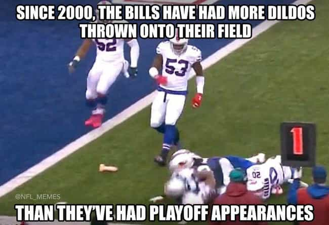 Total Dick Move is listed (or ranked) 5 on the list The 23 Funniest NFL Memes That Are Way Too True