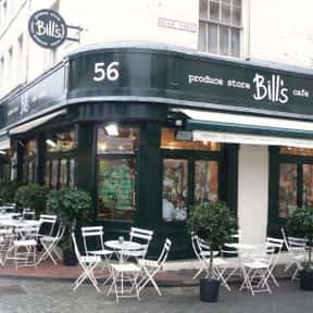 Bill's Restaurants is listed (or ranked) 7 on the list The Best Restaurant Chains of the UK