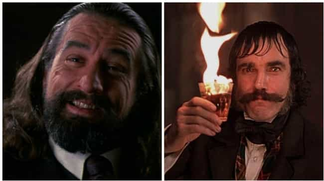 Bill Cutting In 'Gangs Of ... is listed (or ranked) 4 on the list 8 Amazing Roles Almost Played By Robert De Niro