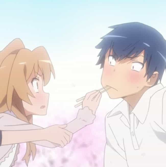 Ryuuji Takasu And Taiga ... is listed (or ranked) 4 on the list Frustrating Shoujo Anime Relationships That We Love