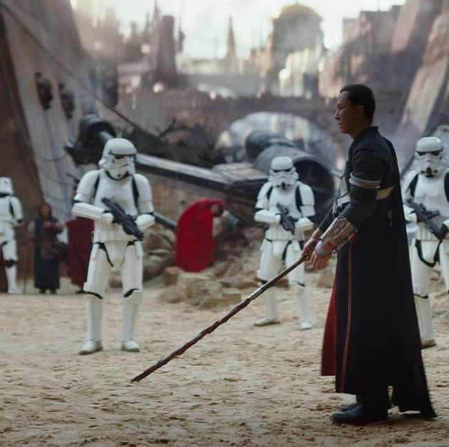 Chirrut Imwe Shows Why S... is listed (or ranked) 4 on the list 16 New Star Wars Fan Theories That Actually Make A Ton Of Sense