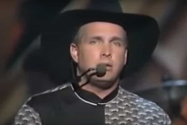 English People LOVE &quo... is listed (or ranked) 8 on the list 21 Weird AF Facts About Garth Brooks, The Biggest Country Star Of The '90s