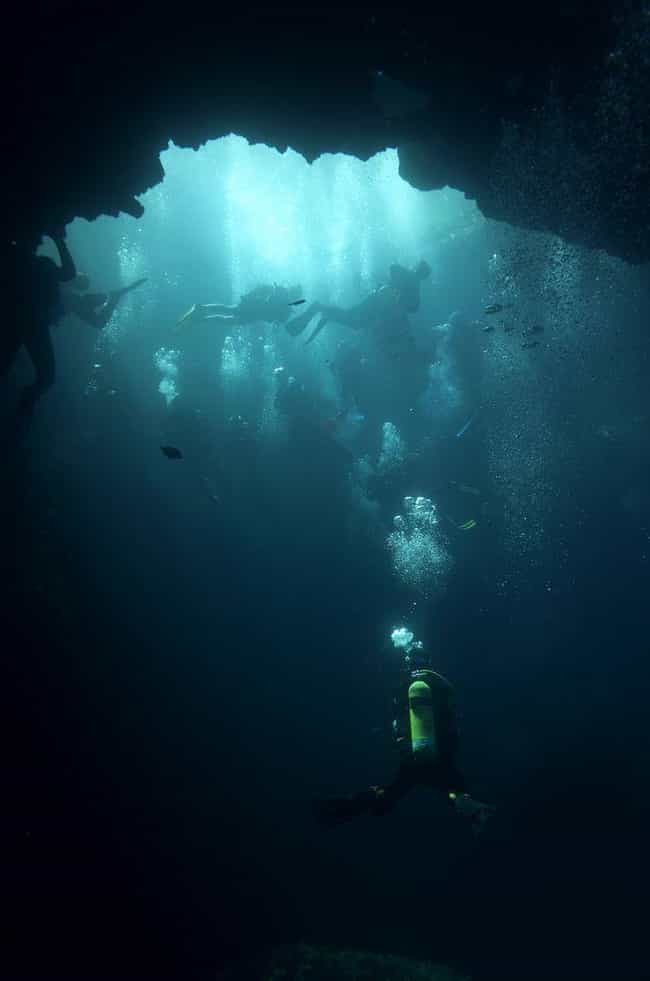 They Were Formed During The Ic... is listed (or ranked) 4 on the list An In-Depth Look at the Mystifying Blue Holes of the Bahamas