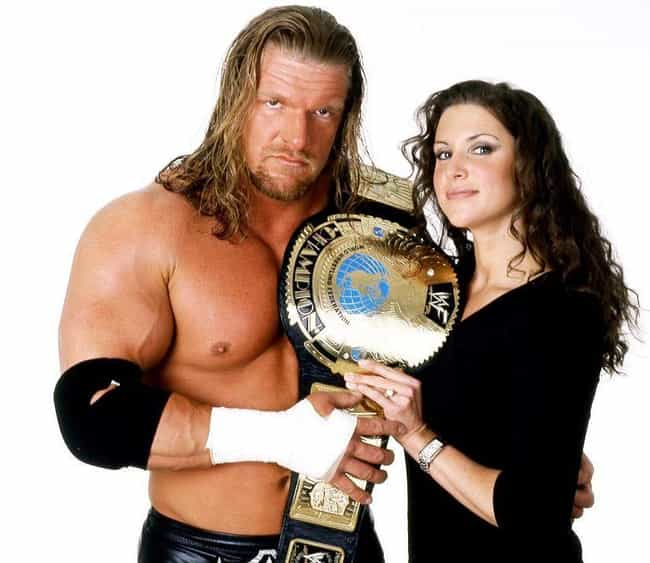 Triple H and Stephanie McMahon is listed (or ranked) 2 on the list The Best On-Screen Pro Wrestling Couples That Were Together in Real Life