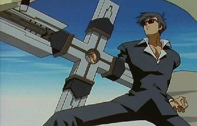 Punisher Cross From Trigun is listed (or ranked) 2 on the list 16 Anime Weapons That Are Impossibly Big
