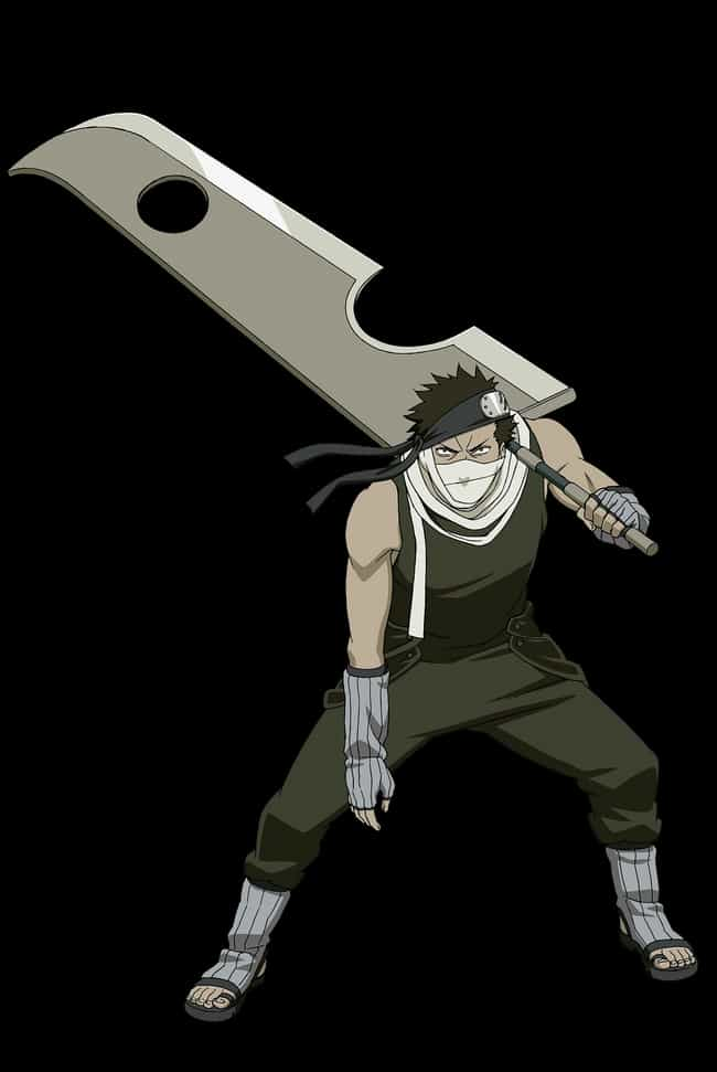 Kubikiribōchō From Narut... is listed (or ranked) 3 on the list 16 Anime Weapons That Are Impossibly Big