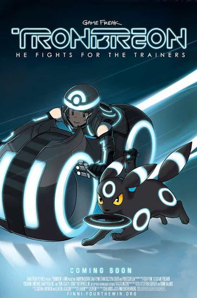 Shiny Umbreon Stars In T... is listed (or ranked) 1 on the list 18 Awesome Pokemon Mashups With Disney Movies