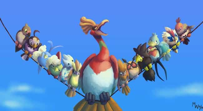 For The Birds Meets Poke... is listed (or ranked) 3 on the list 18 Awesome Pokemon Mashups With Disney Movies