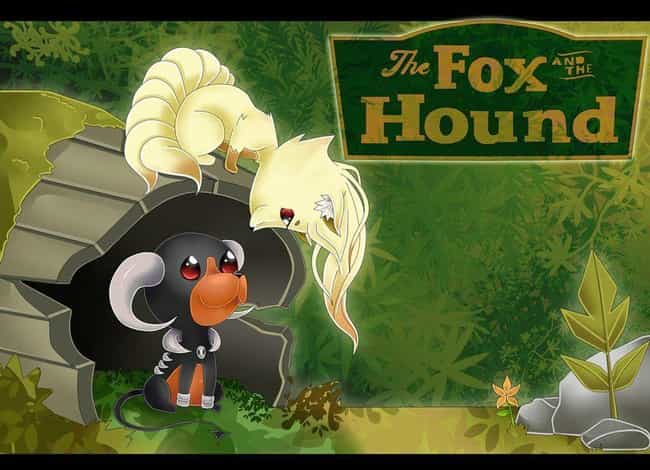 The Pokemon Fox And The ... is listed (or ranked) 2 on the list 18 Awesome Pokemon Mashups With Disney Movies