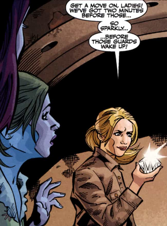 Buffy Robs Banks (For Some Rea... is listed (or ranked) 1 on the list The 16 Dumbest Things That Happened In The Buffy Comics