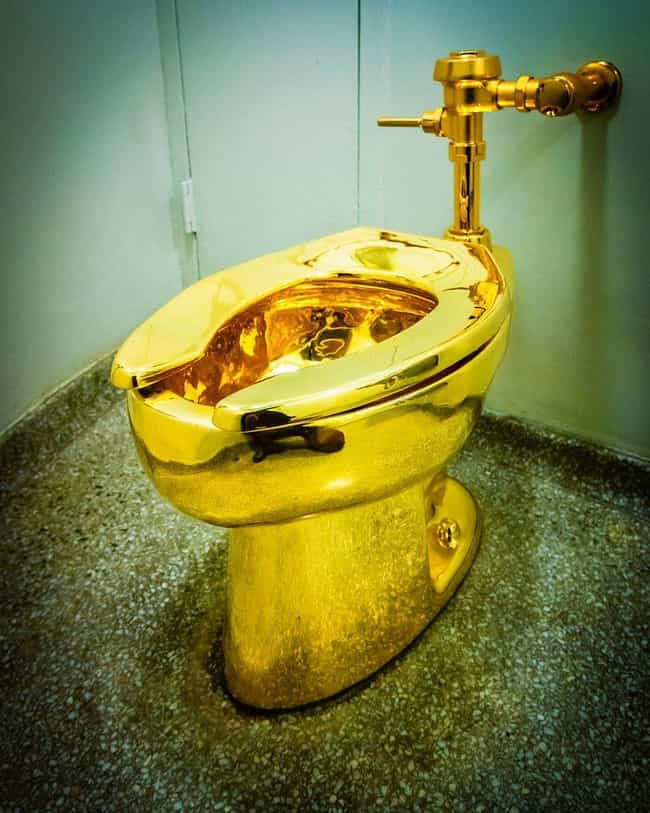 The Gold Toilet In New York is listed (or ranked) 3 on the list 16 Of The Craziest Public Toilets From Around The World
