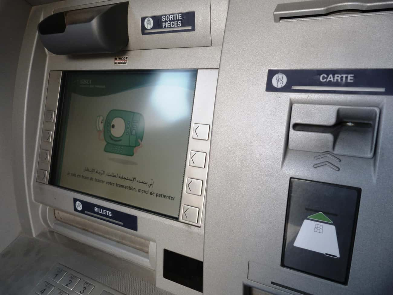 Withdrawing Money From An ATM  is listed (or ranked) 3 on the list 14 Unreal Things You Never Realized Blind People Have To Deal With