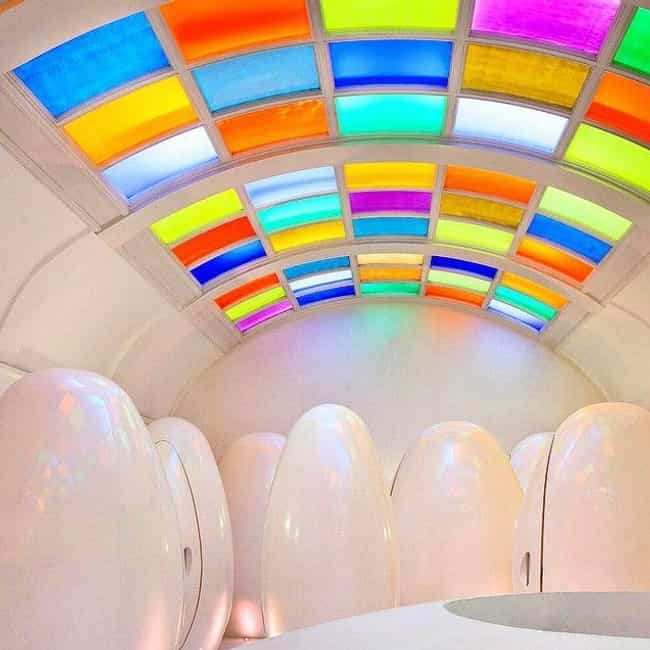 Pod Toilets In London's Sk... is listed (or ranked) 2 on the list 16 Of The Craziest Public Toilets From Around The World