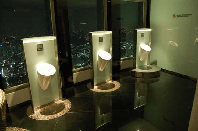 See the View In Seoul Tower... is listed (or ranked) 7 on the list 16 Of The Craziest Public Toilets From Around The World