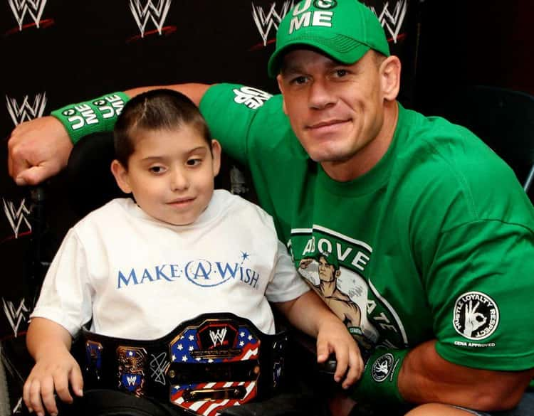 He Holds The Record For Most Wishes For The Make-A-Wish Foundation