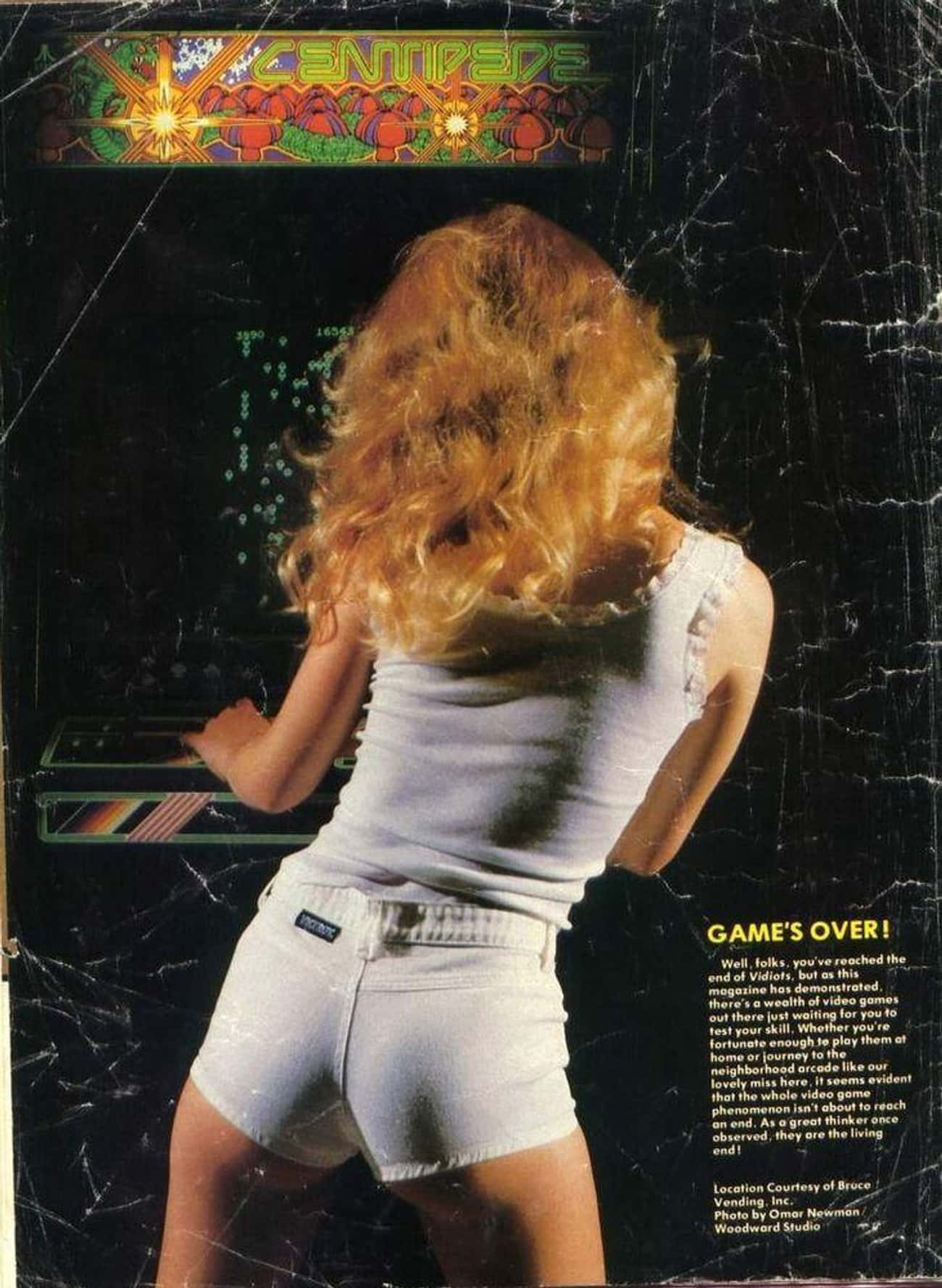 Typical '80s Gamer is listed (or ranked) 3 on the list 19 Old-School Video Game Ads That Are Mind-Blowingly Dirty