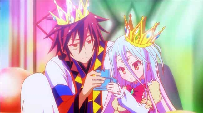 Sora and Shiro - No Game... is listed (or ranked) 2 on the list 18 Anime Characters Who Are Bigger Otaku Than You