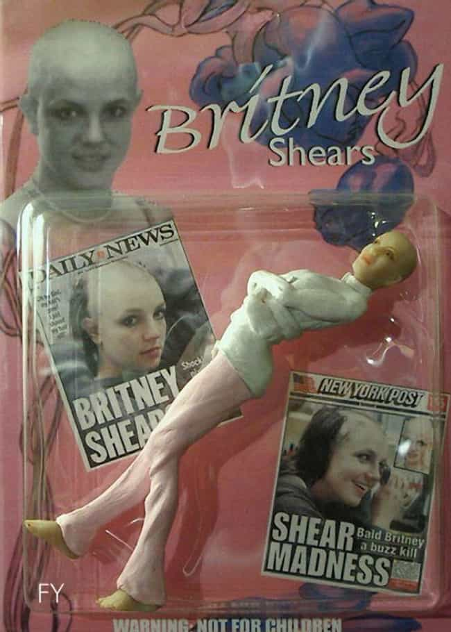 The Bald Britney Doll is listed (or ranked) 2 on the list 26 Horrible Celebrity Dolls That Actually Got Made