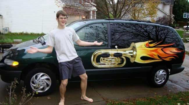 The No Shaggin' Wagon is listed (or ranked) 4 on the list 23 Of The Worst Custom Car Paint Fails Ever