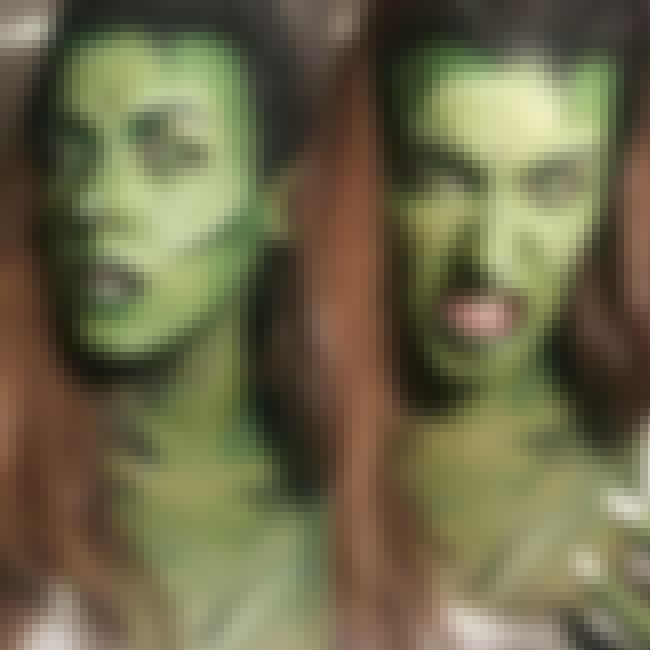 She Hulk is listed (or ranked) 4 on the list 28 Pop Culture Face Paint Jobs That Are Freakishly Accurate