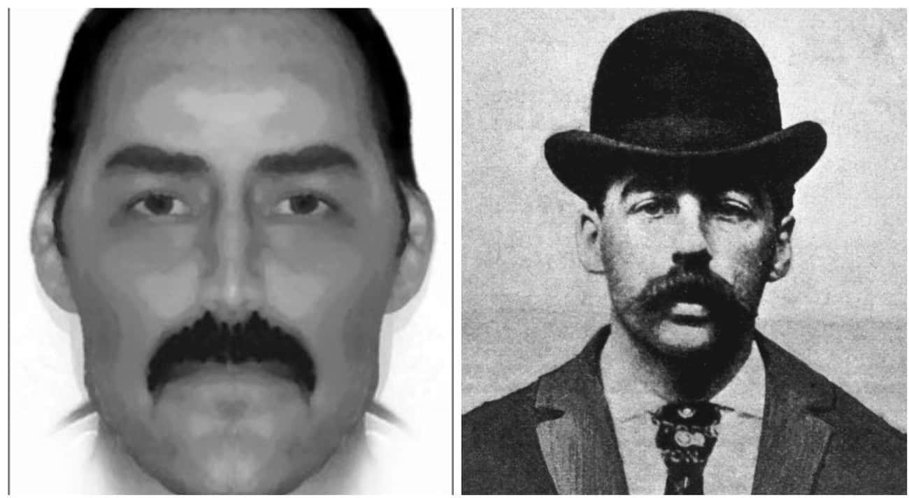 A Composite Photo Of Jack The Ripper Looks Eerily Similar To H.H. Holmes