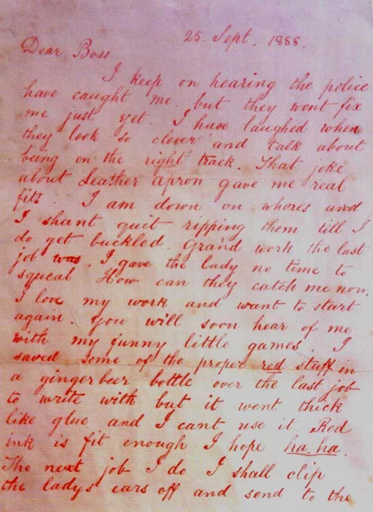 Handwriting Analysis Links The Two Killers