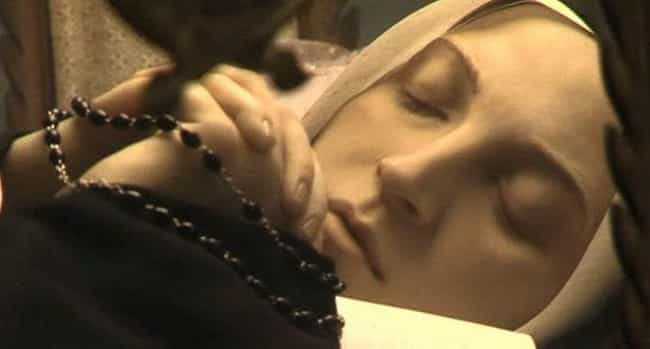 St. Bernadette of Lourdes is listed (or ranked) 4 on the list 11 Major Religious Figures Whose Corpses Allegedly Never Decayed