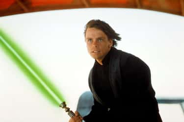 Luke Skywalker's Lightsaber is listed (or ranked) 2 on the list All 27 Different Types Of Lightsabers That Have Appeared In Star Wars