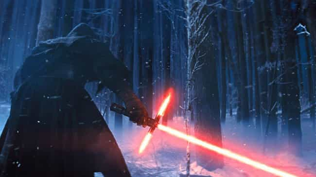 Kylo Ren's Lightsaber is listed (or ranked) 1 on the list All 27 Different Types Of Lightsabers That Have Appeared In Star Wars