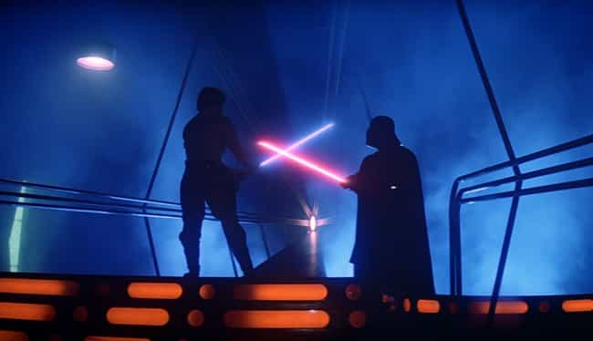 Darth Vader's Lightsaber... is listed (or ranked) 3 on the list All 27 Different Types Of Lightsabers That Have Appeared In Star Wars
