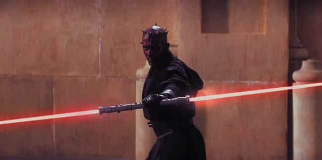 Darth Maul's Lightsaber is listed (or ranked) 4 on the list All 24 Different Types Of Lightsabers That Have Appeared In Star Wars