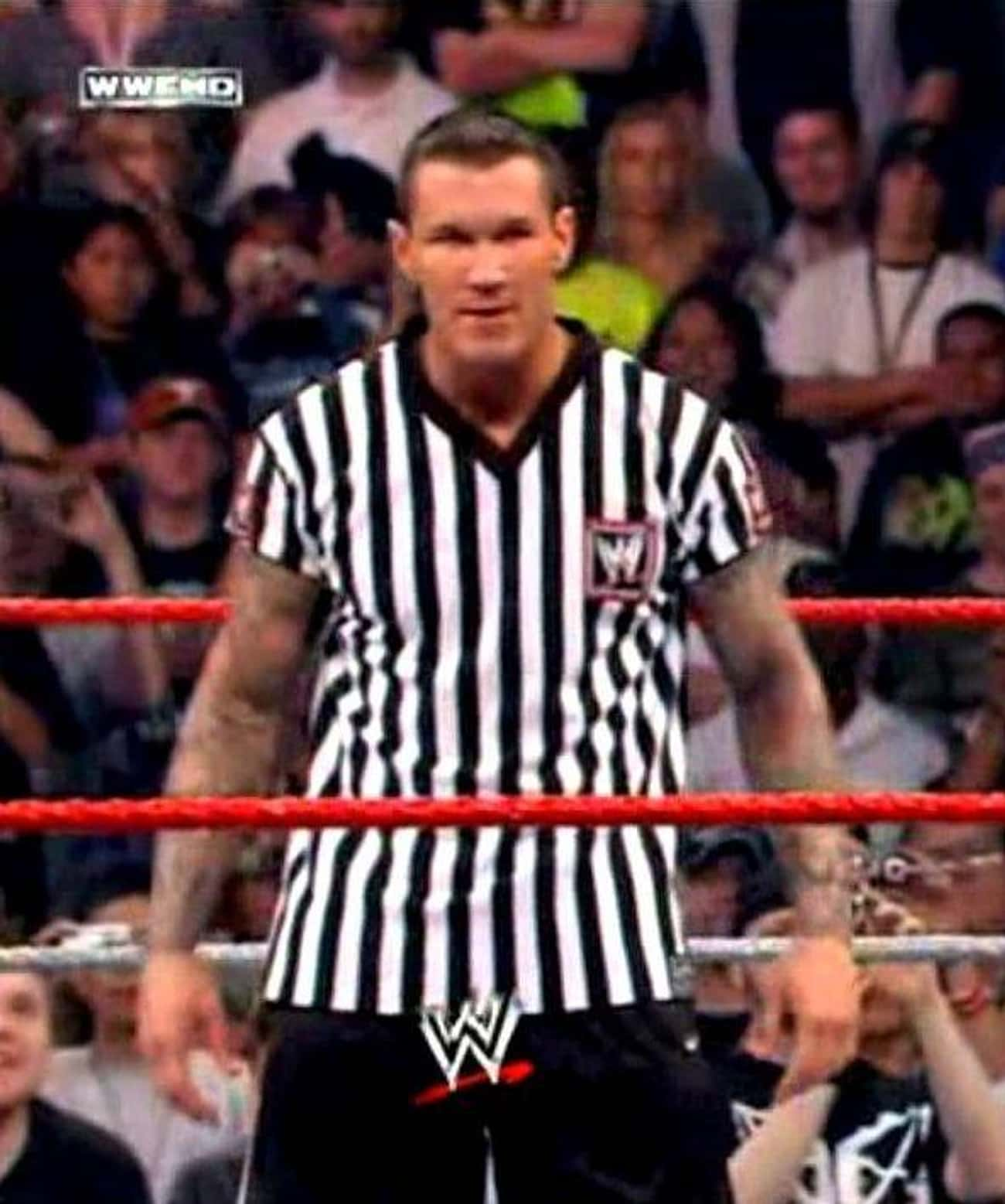 He Was A Referee is listed (or ranked) 2 on the list Five Things You Should Know About Randy Orton