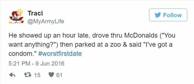 follow up after first date