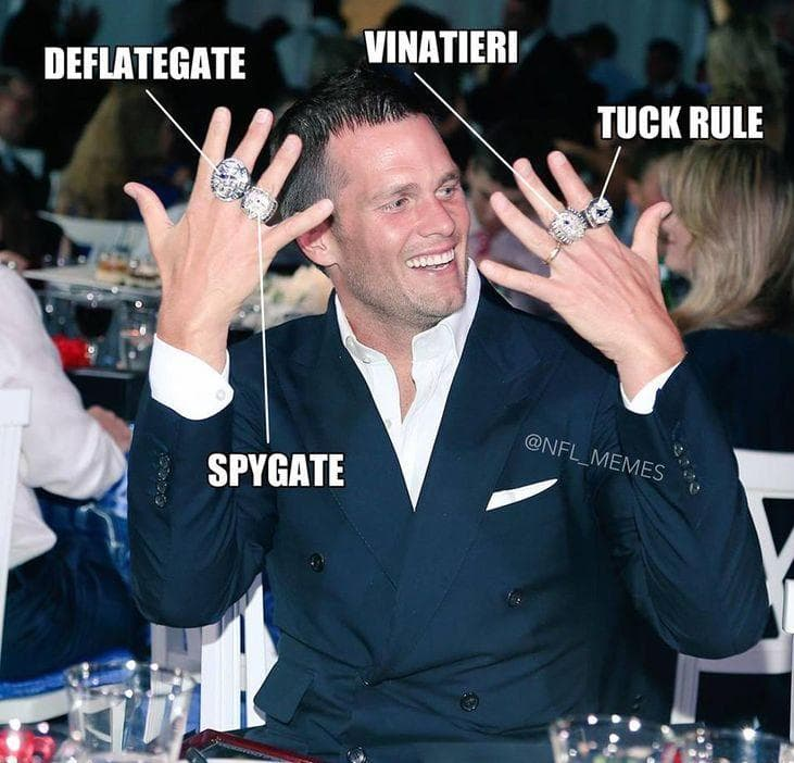 Tom Brady's Rings: Explained on Random Internet Expertly Trolled Tom Brady
