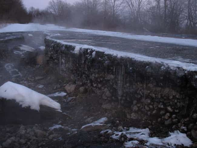 Smoke Is Constantly Spew... is listed (or ranked) 2 on the list Horrifying Things About Centralia, The Real Life 'Silent Hill' Right Here In America